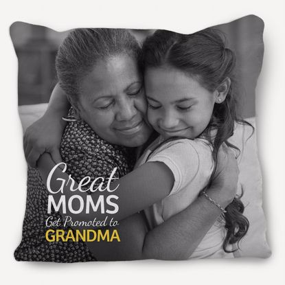 Picture of Mom's Promotion Pillow