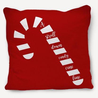 Picture of Candy Cane Pillow