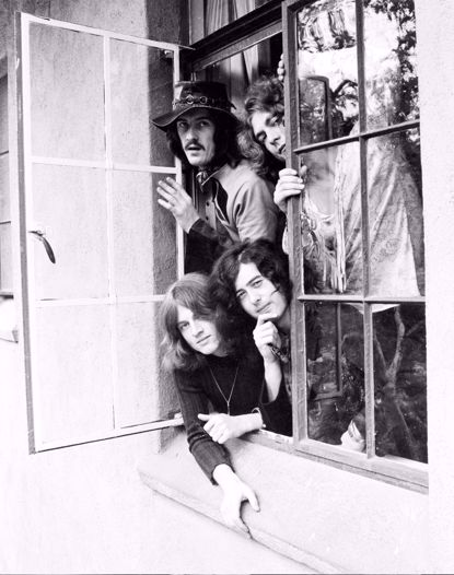 Picture of Led Zeppelin Metal Print 11x14
