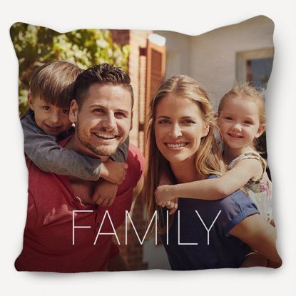Picture of Custom Family Pillow
