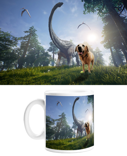 Picture of Adventure Pets Mug - Dino Park