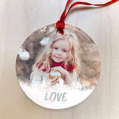 Picture of Love Ceramic Ornament