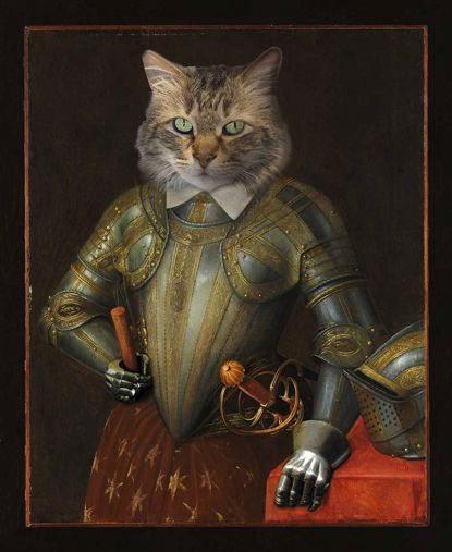 Picture of Regal Pet - Knight 11x14