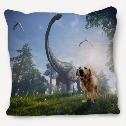 Picture of Adventure Pets Pillow - Dino Park