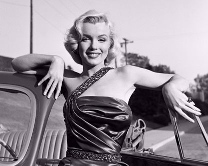 Picture of Marilyn Monroe Metal Print