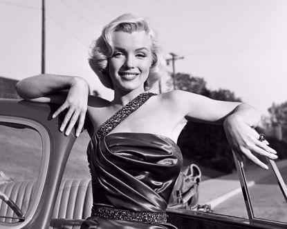 Picture of Marilyn Monroe Metal Print