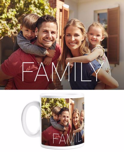 Picture of Personalized Family Mug with Custom Image