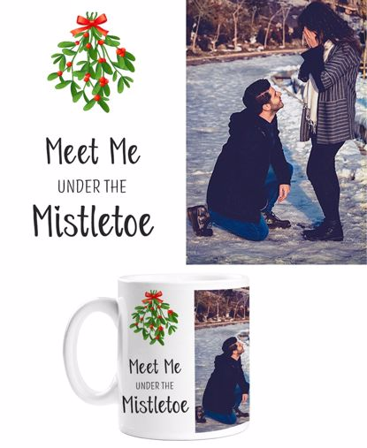 Picture of Meet Me Under The Mistletoe Mug