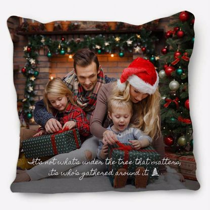 Picture of Gathered Around The Tree Pillow