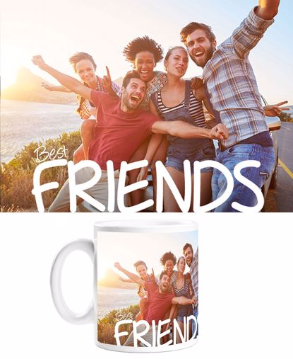 Picture of Custom Best Friend Mug with Personalized Image
