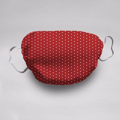 Red Polka Dots Face Mask