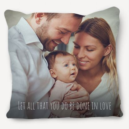 Picture of Let All That You Do Be Done In Love Pillow