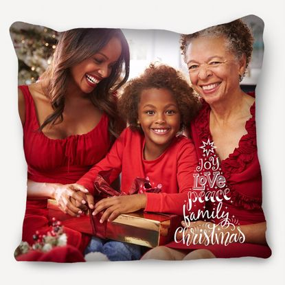 Picture of Joy Love Peace Family Pillow