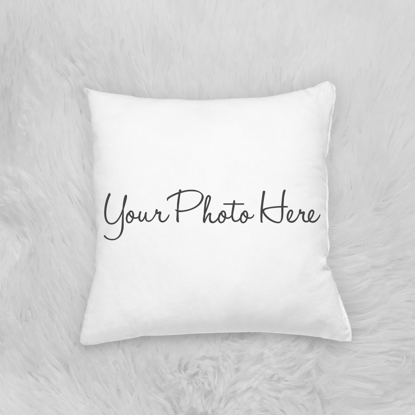 Picture of Photo Pillow 12x12 with Custom Image