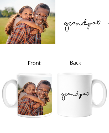 Picture of Grandpa Double Sided Mug