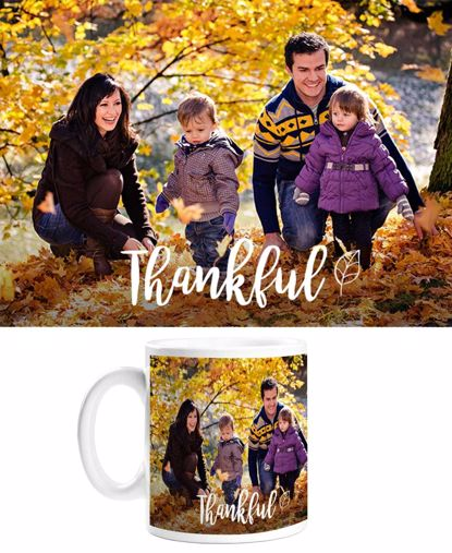 Picture of Thankful Mug with Custom Image