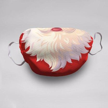 Santa Face Mask (5-pack)