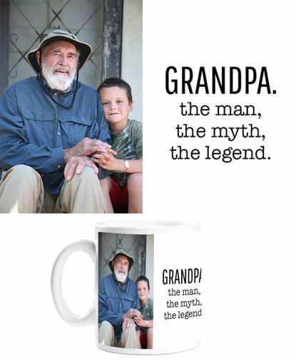 Picture of Grandpa: The Man, The Myth, The Legend Mug