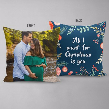 All I Want For Christmas Double Sided Pillow