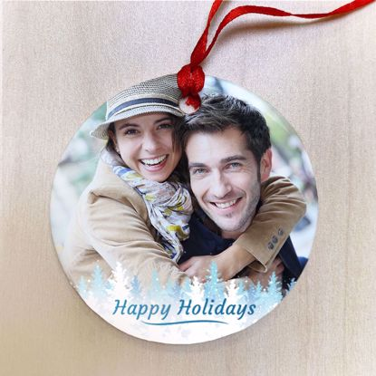 Picture of Happy Holidays Ceramic Ornament