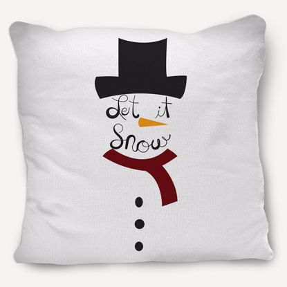 Picture of Snowman Pillow