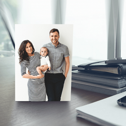 Picture of Custom Desktop Photo Plaque with Personalized Image