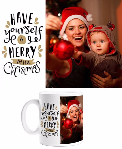 Picture of Have Yourself A Merry Little Christmas Mug