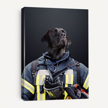 Picture of Firefighter Pet